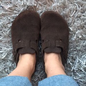 Birkenstock clogs - barely worn!